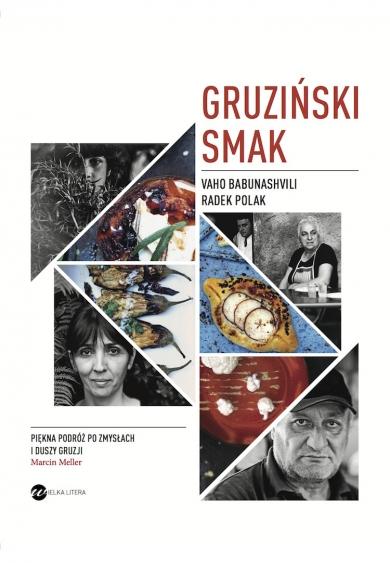 Gruziński smak - okładka