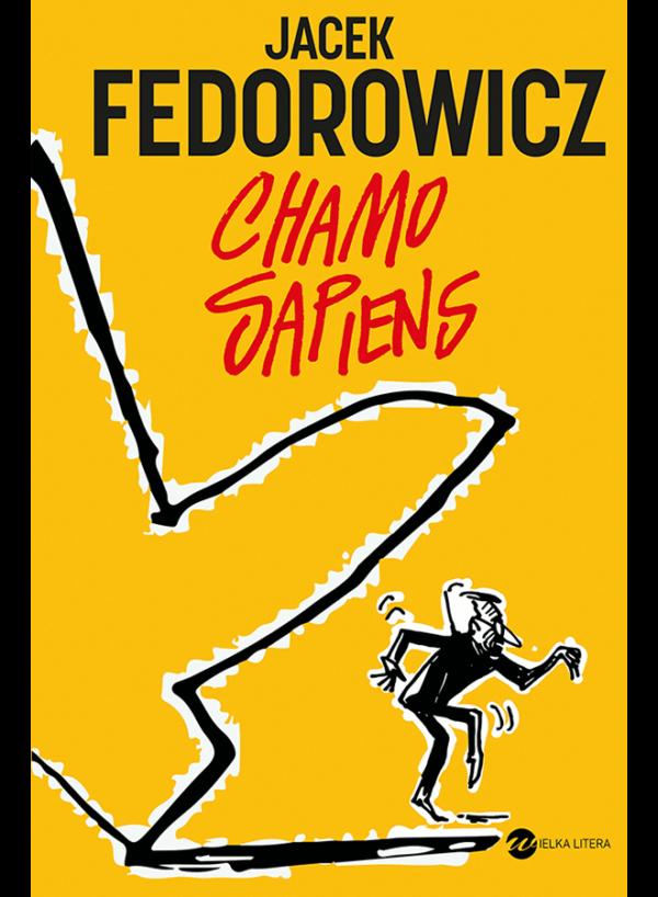Jacek Fedorowicz, Chamo Sapiens, okładka książki