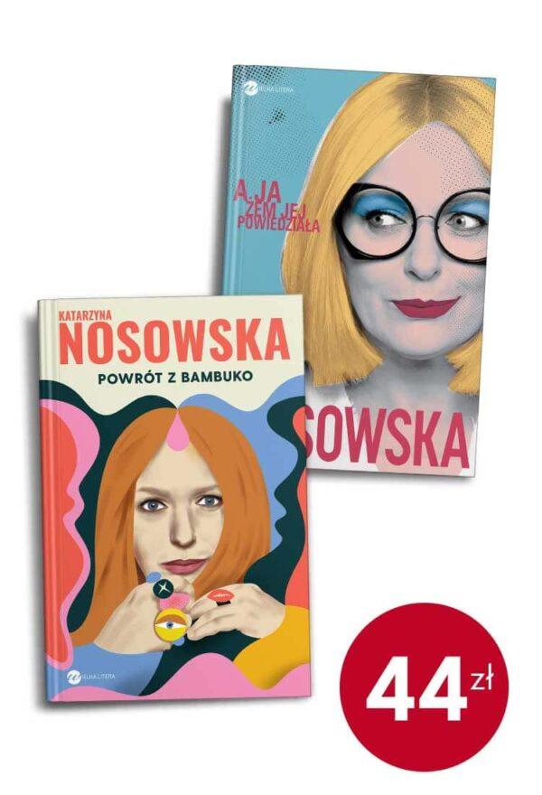Pakiet książek Katarzyny Nosowskiej - promocje w sklepie internetowym