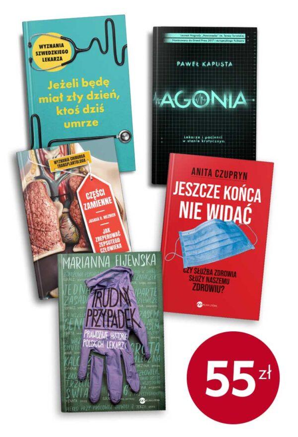 Pakiet szpitalno-ratunkowy - pakiet 5 książek
