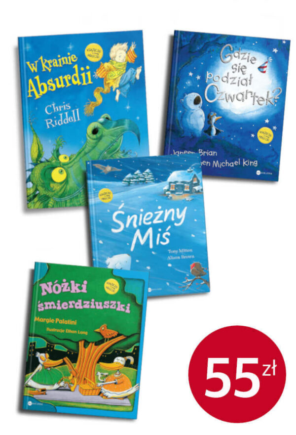 Pakiecik książek dla najmłodszych - promocja