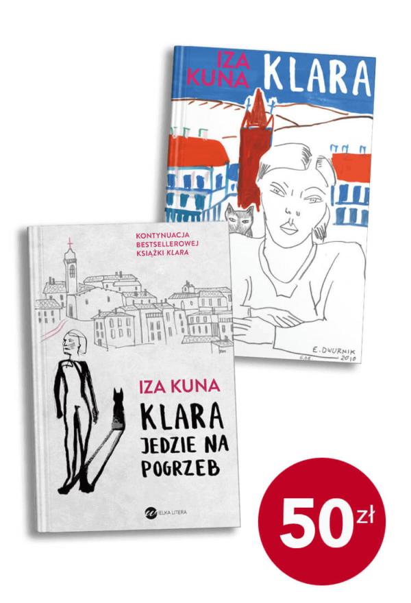 Pakiet książek Izy Kuny